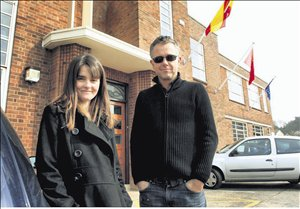 Actress Shirley Henderson and director Michael Winterbottom