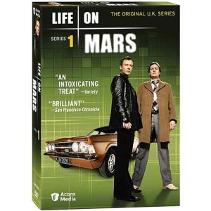 UK Life On Mars Series 1 DVD cover art