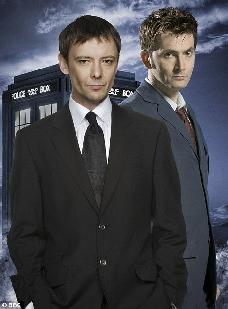 Showdown: John Simm stars as the Master alongside David Tennant's Dr Who
