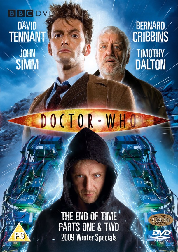 'Doctor Who: The End of Time, Parts 1 and 2' DVD Cover