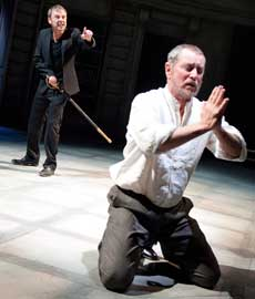 John Simm and John Nettles in Hamlet