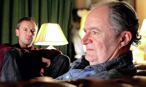 Oscar winner Jim Broadbent with John Simm in Exile