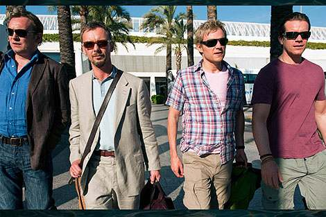 The 'Mad Dogs' at Palma Airport - Photo Sky