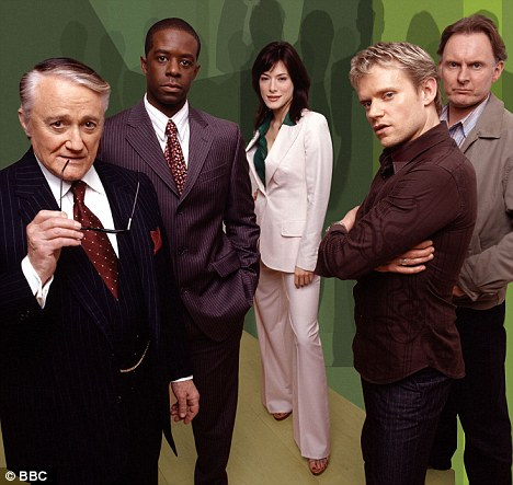 Hustle: Marc Warren is recognisable from the BBC series about con artists who swindle bad people for money