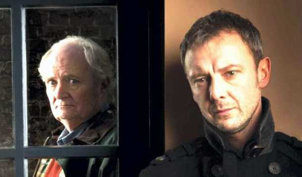 New drama: John Simm and Jim Broadbent as Tom and Sam Ronstadt in Exile