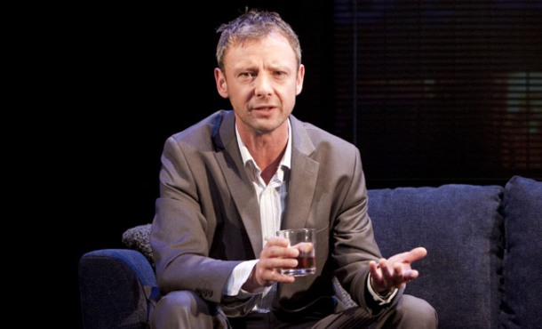 John Simm interview for the BBC's Exile - British GQ - Photo Credit: Rex Features
