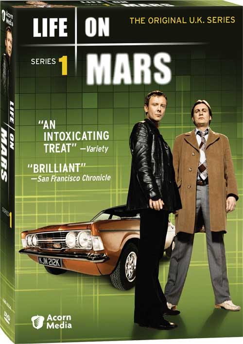 UK Life On Mars Series 1 - US DVD Release