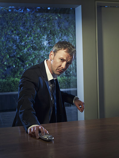 John Simm: Photograph by Phil Fisk