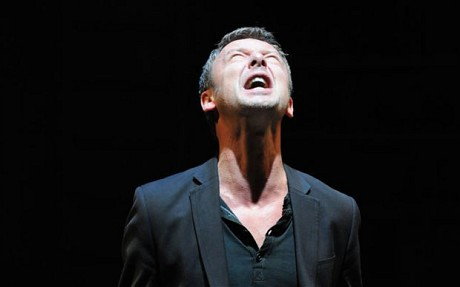 John Simm playing Hamlet at the Sheffield Crucible theatre in 2010