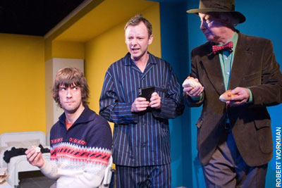 John Simm in Elling at Trafalgar Studios