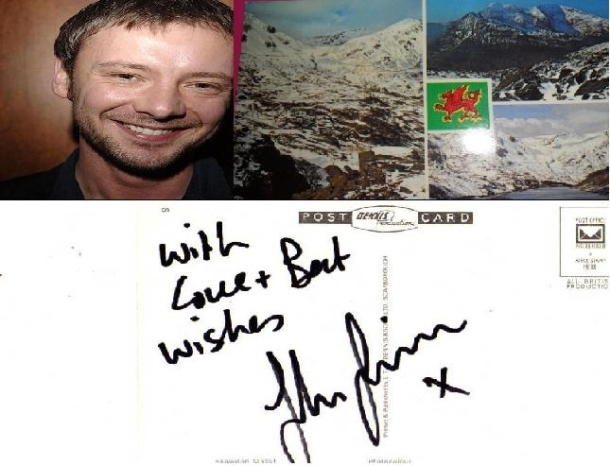 Charity Postcard Auction: John Simm: Dr. Who