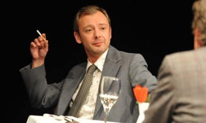 Heartbreaking ... John Simm gives a charged performance.