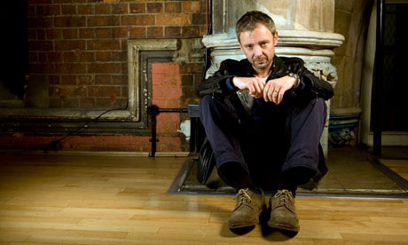 'Lively': John Simm in rehearsal for Betrayal.