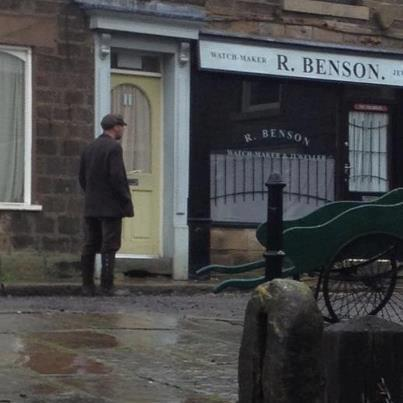 The Village - Set and Filming On Location