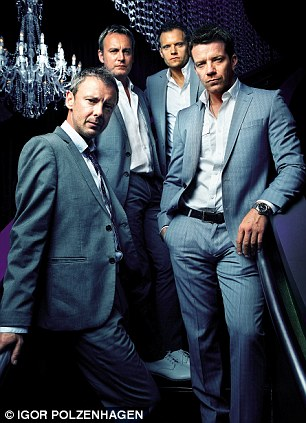 Mad Dogs 3: John Simm, Philip Glensiter, Marc Warren and Max Beesley
