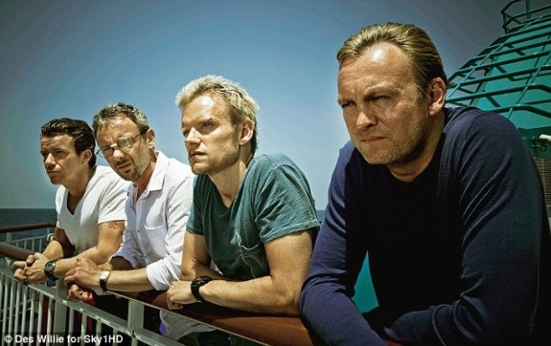 Mad Dogs: Max Beesley, John Simm, marc Warren and Philip Glenister