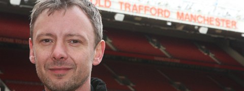 John Simm on Manchester United