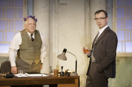 Simon Russell Beale (Roote) and John Simm (Gibbs)
