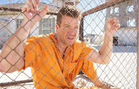 Max Beesley in a scene from Mad Dogs, Episode 1