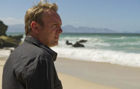 Philip Glenister in a scene from Mad Dogs, Episode 2