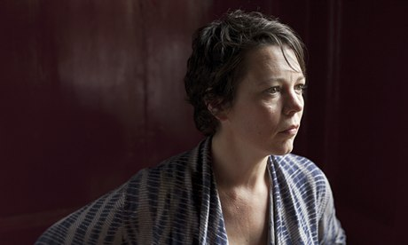 Gutsy and sarcastic … Olivia Colman plays Lizzie in Goodbye. Photograph: Linda Brownlee for the Guardian
