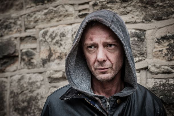 John Simm as Detective Constable Marcus Farrow in ITV's Prey
