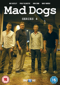 Mad Dogs: Series 4 and Series 1-4 Box Set available on DVD