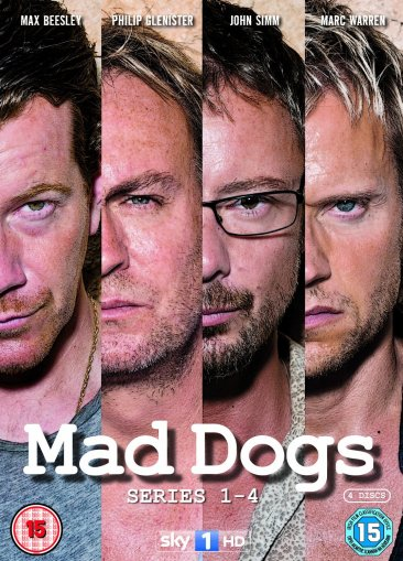 Mad Dogs - Series 1-4 DVD Box Set
