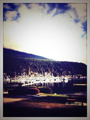 Intruders filming in North Vancouver's Deep Cove - Photo by John Simm