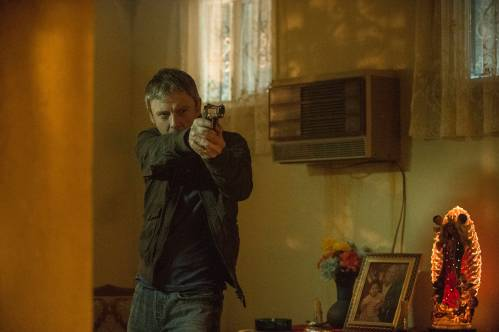 John Simm is ex-L.A. cop Jack Whelan in Intruders.