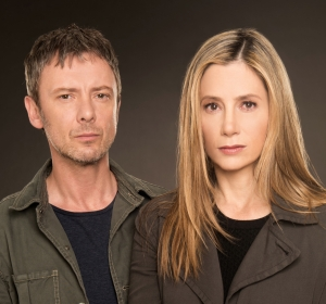 John Simm and Mira Sorvino star as Jack and Amy in Intruders