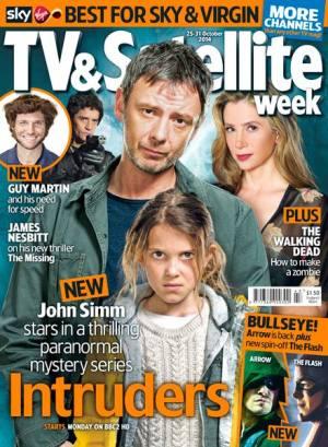 TV & Satellite Week cover - Intruders (25-31 October 2014)