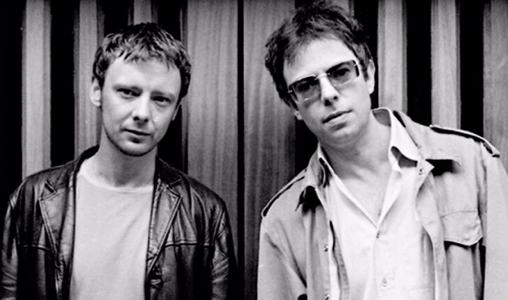 Old Photo of John Simm and Ian McCulloch 300h