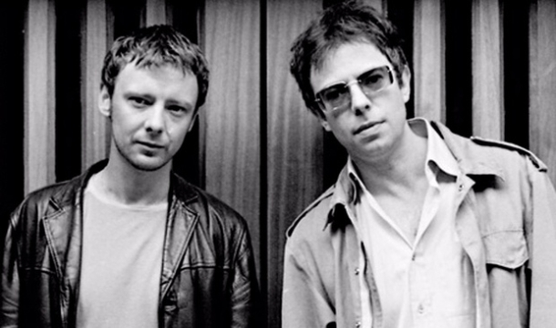 Old Photo of John Simm and Ian McCulloch