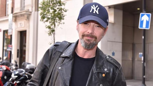 John Simm arrives at The BBC on 6 August 2015 in London, England.