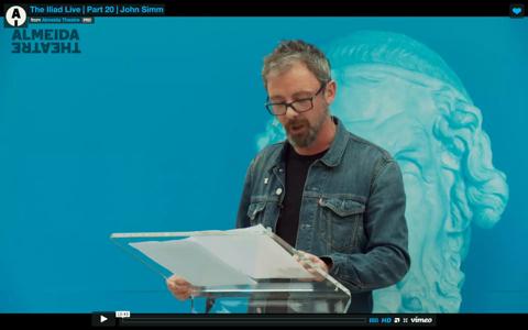John Simm Reads  The Iliad