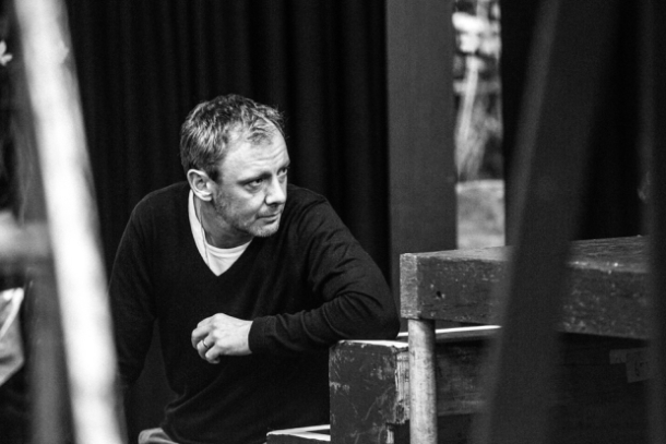 John Simm rehearses as Lenny in The Homecoming. Photo by Matt Humphrey