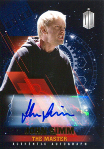 New Signer John Simm for 2016 Topps Doctor Who Timeless cards