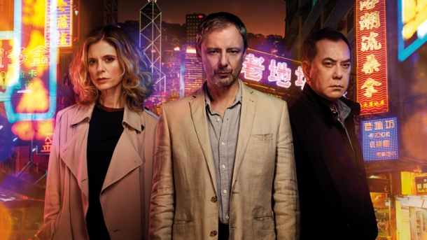 Emilia Fox, John Simm and Anthony Wong star in ITV's 8-part ambitious & timely conspiracy thriller, Strangers.