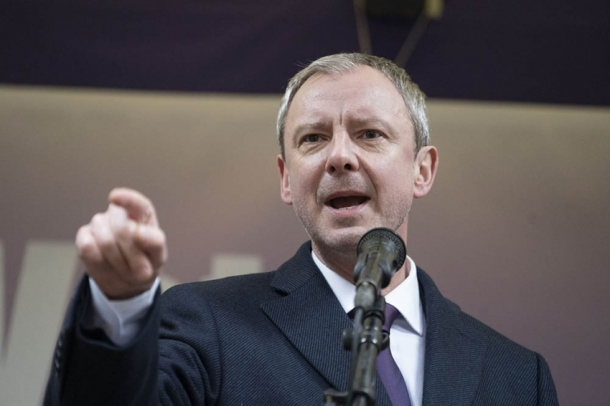 John Simm stars as populist politician Arthur Fried