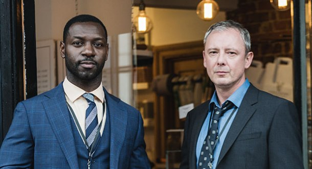 Richie Campbell and John Simm in Russell Lewis' Grace